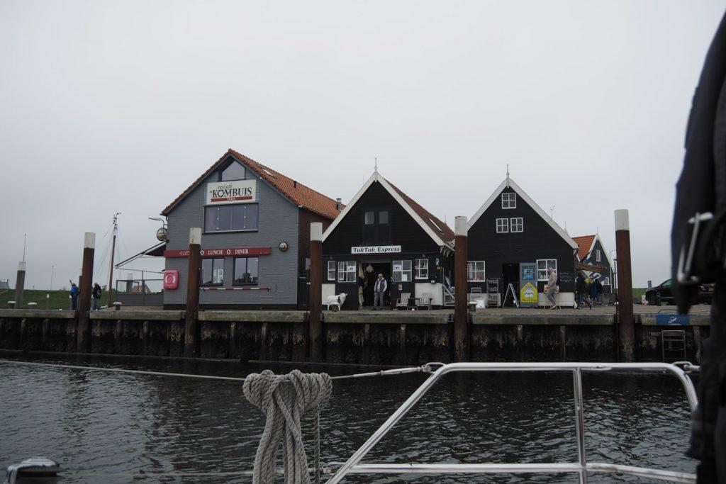 Oudeschild's harbor