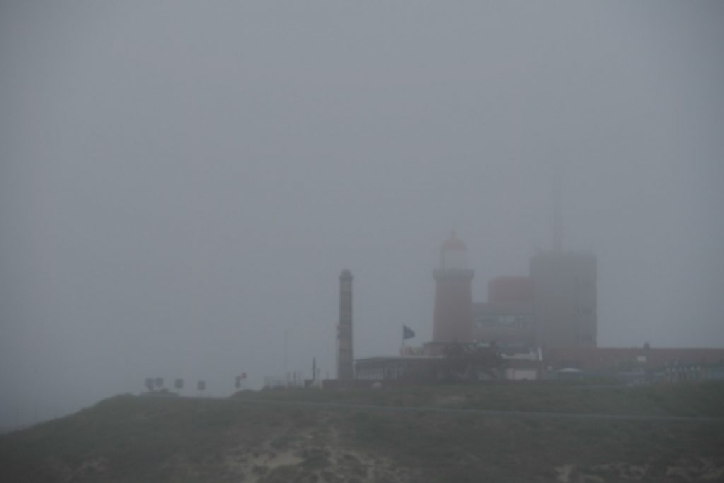 IJmuiden port control in the fog