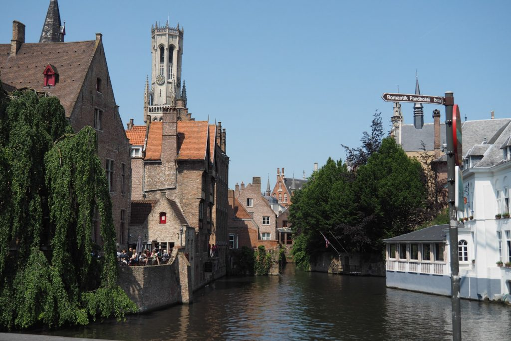 One of the many channels of Brugge
