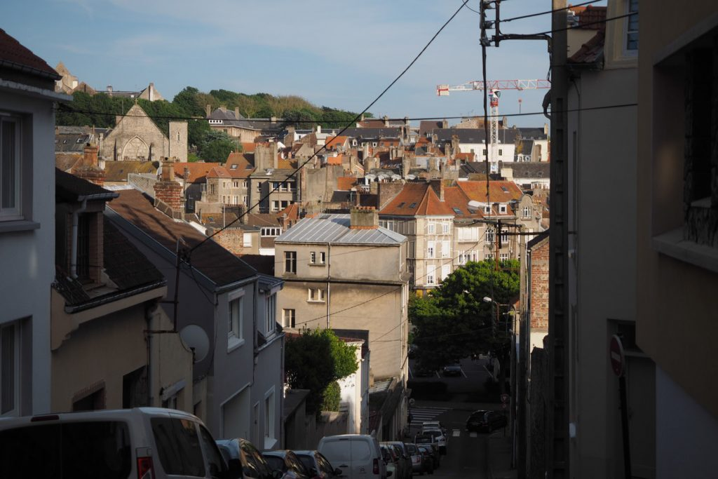 Street view in Boulonge-Sur-Mer