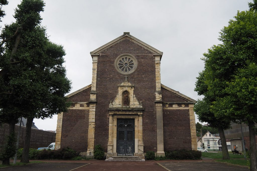 Another (closed?) church in Dieppe