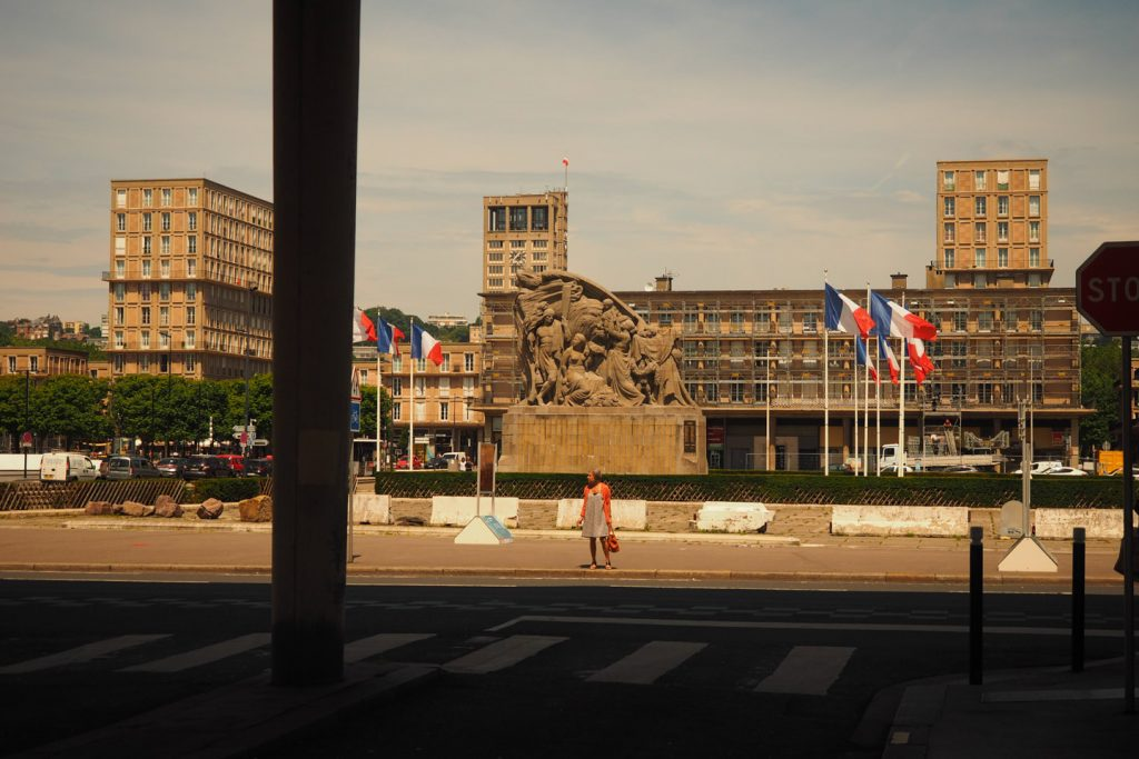 Le Havre city center