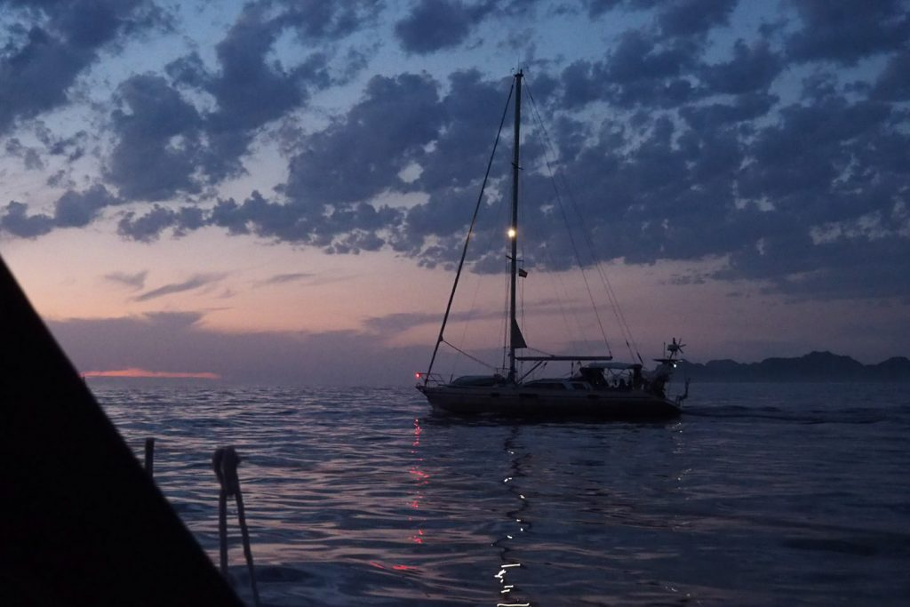 Sailing into the sunset and south with SY Emil