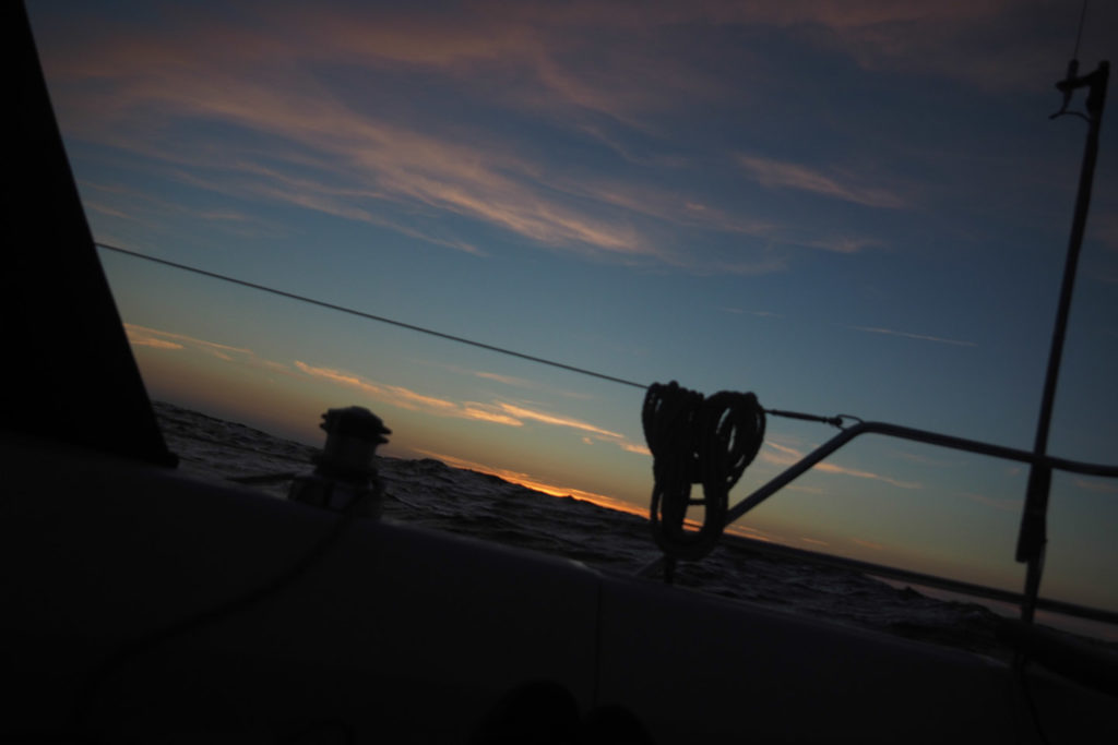 My last sunset at sea... beautyful silence, yet sometimes painful when in solitude