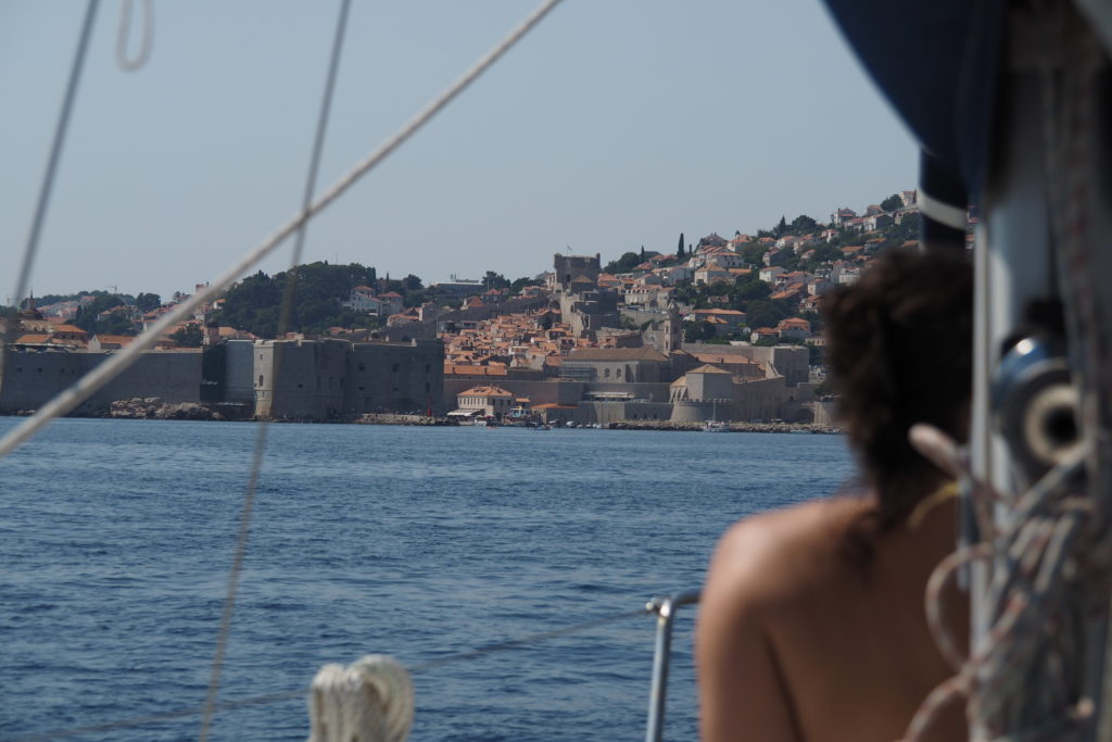 Heading towards Dubrovnik